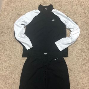Nike Women's Track Suit - Black/White